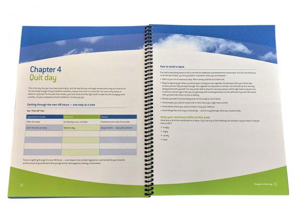 Keys to a Smoke-Free Life Manual - stop smoking workbook